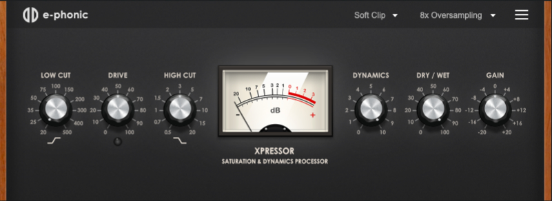 XPressor saturation vst free